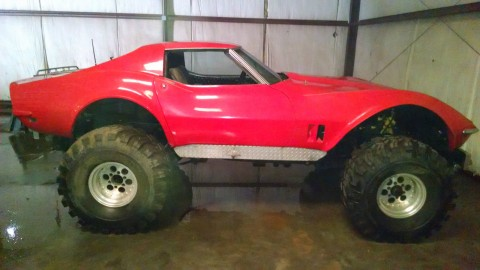1968 Chevrolet Corvette Monster Truck for sale