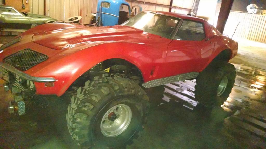 Awesome Jacked Up Trucks >> 1968 Chevrolet Corvette Monster Truck for sale
