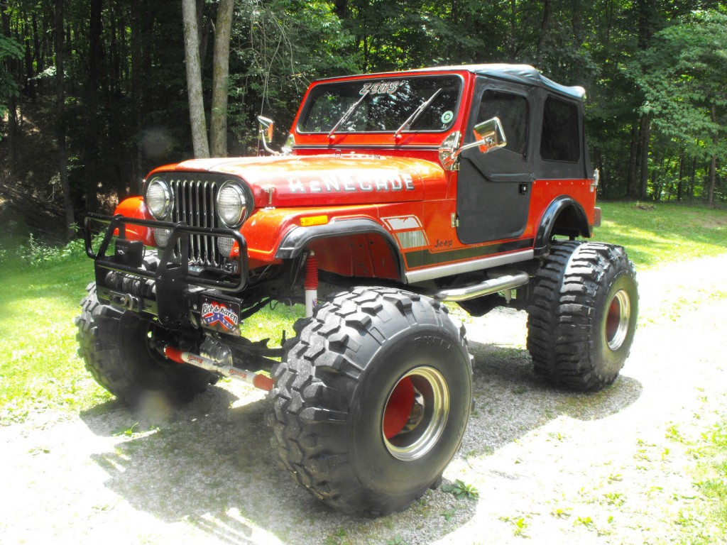 1984 jeep cj7 renegade zeus monster for sale. Black Bedroom Furniture Sets. Home Design Ideas