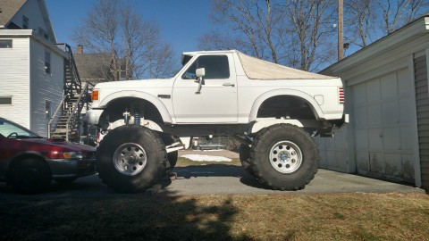 1987 Ford Bronco XLT Monster Truck for sale