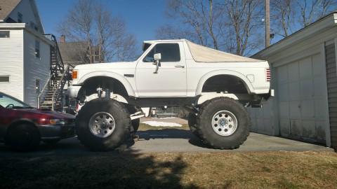 1987 Ford Bronco XLT Monster Truck for sale