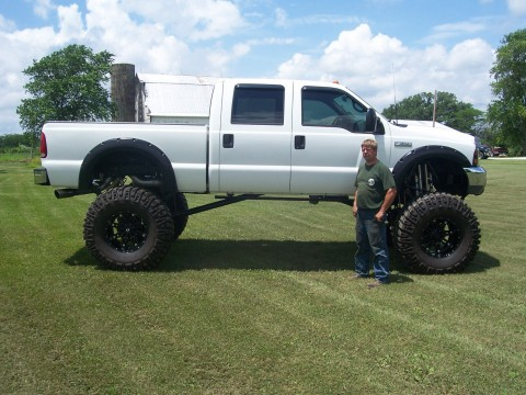 2001 Ford F-350 crew cab Monster truck for sale