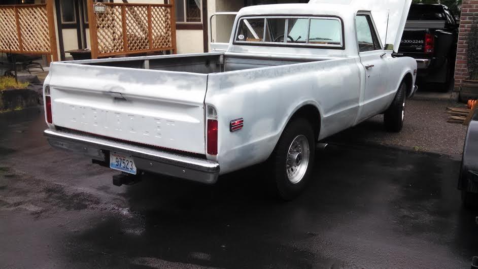 1972 Chevrolet C20 454 Big Block W/ Turbo 400