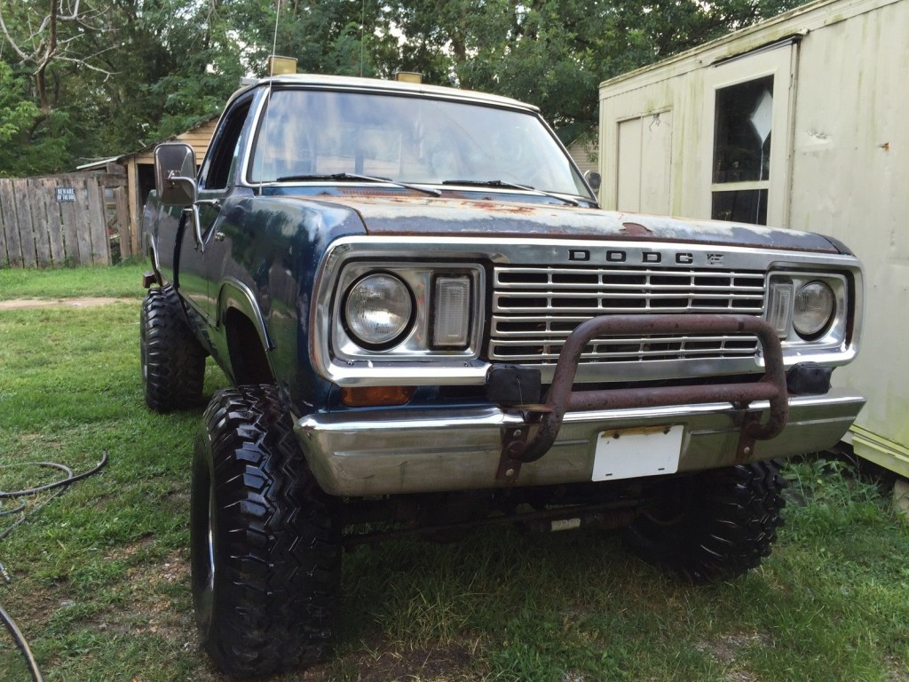 1974 Dodge Power Wagon For Sale >> 1974 Dodge Power Wagon w100 Monster truck for sale