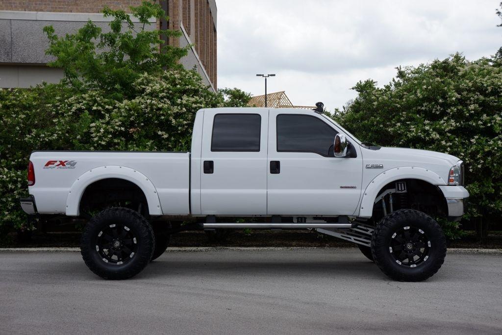 Custom Diesel Trucks For Sale >> 2007 Ford F 250 Lariat 4X4, 9.5″ Lift, Monster Truck, Navigation for sale