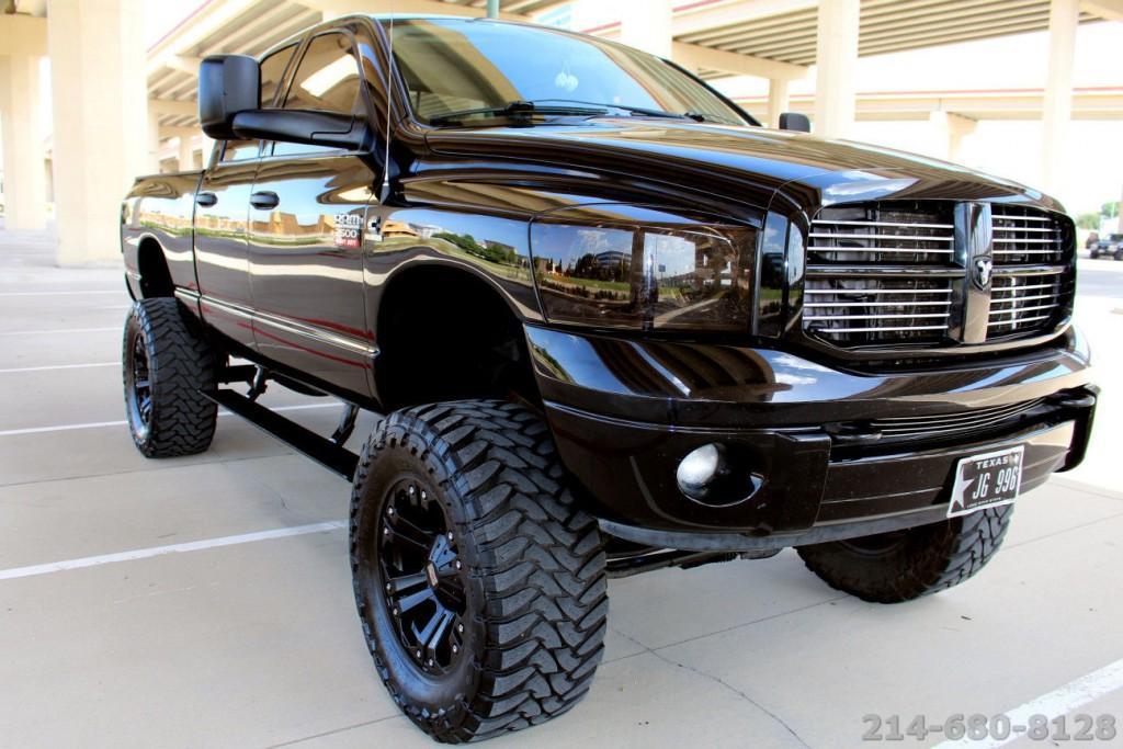 2008 dodge ram 2500 custom turbo diesel 4x4 lifted monster for sale. Black Bedroom Furniture Sets. Home Design Ideas