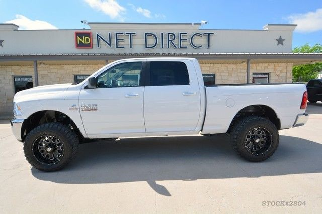 2014 Dodge Ram 2500 SLT Crew Cab Leveled 4×4 Diesel Truck | Monster
