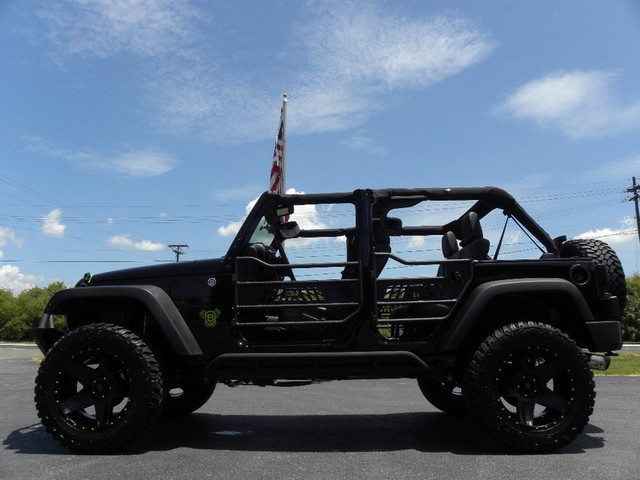2015 Jeep Wrangler Voodoo Custom Lifted Leather DV8