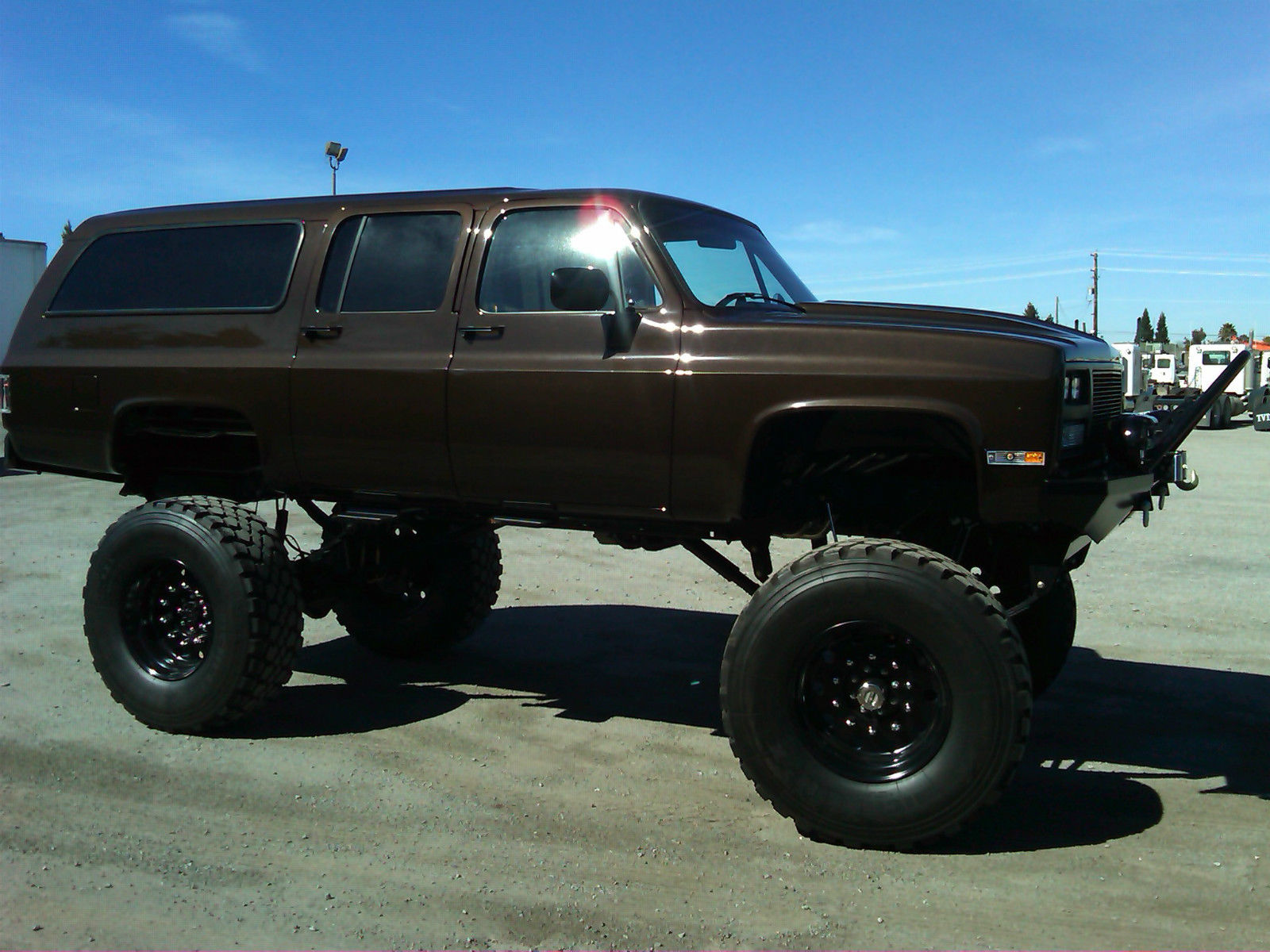 Lifted Chevy Silverado >> 1973 Chevrolet Suburban for sale