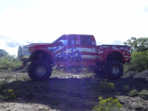 1999 Ford F 250 Monster Truck 9/11 Edition for sale