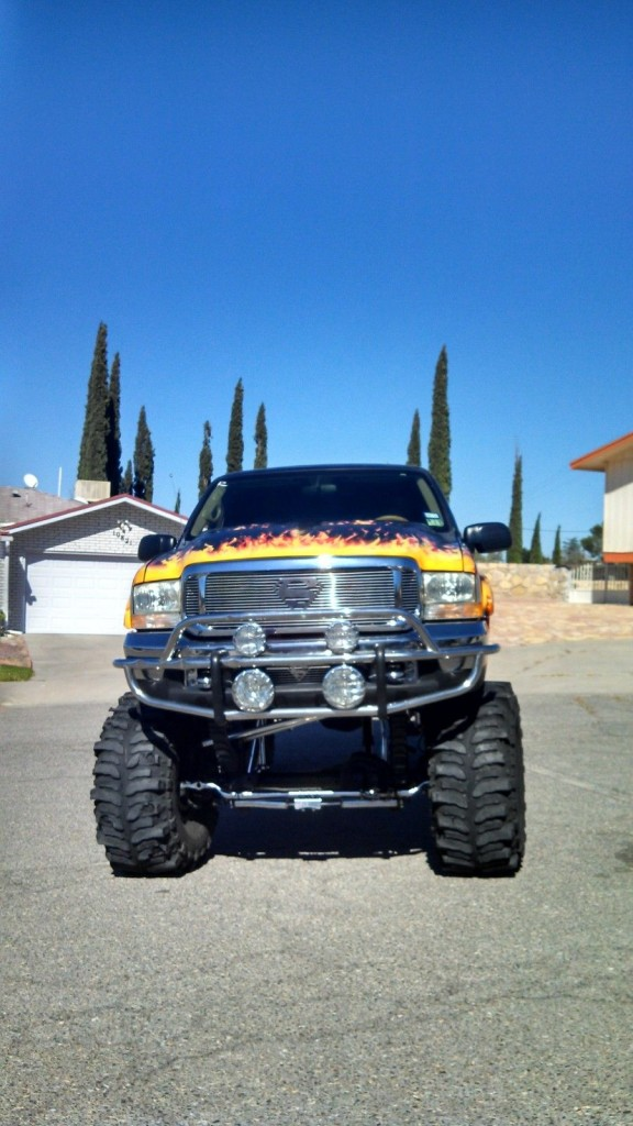2002 ford excursion with 20 inch lift for sale. Black Bedroom Furniture Sets. Home Design Ideas