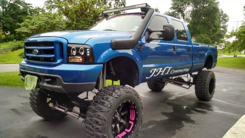 2002 Ford F 350 lariat Lifted 7.3 Diesel Monster Truck for sale