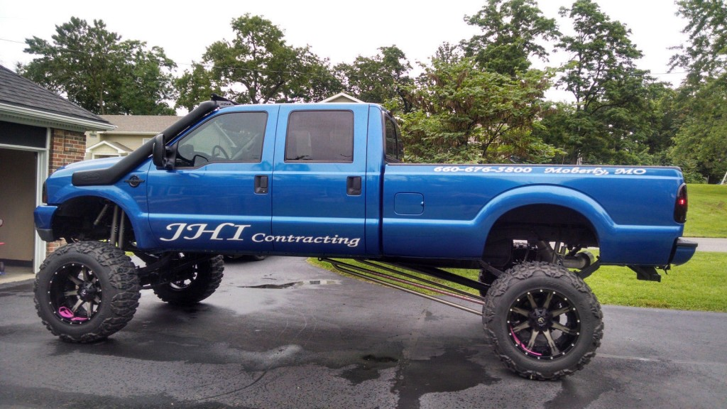 Lifted Trucks For Sale In Texas >> 2002 Ford F 350 lariat Lifted 7.3 Diesel Monster Truck for sale