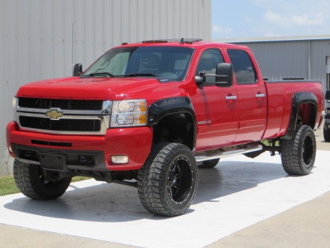 2008 Chevrolet Silverado 2500 Diesel 4×4 LTZ 6.6 Duramax 6spd Allison 4×4 LB Sunroof for sale