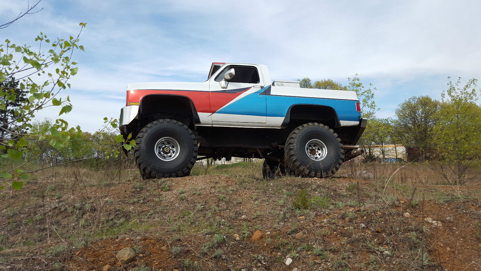 1987 Chevy Shortbox 4×4 C10 for sale
