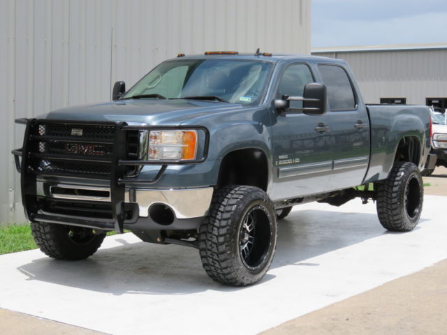 2008 gmc sierra 2500 diesel 4 4 sle1 6 6 duramax 6spd allison 4 4 lifted for sale. Black Bedroom Furniture Sets. Home Design Ideas
