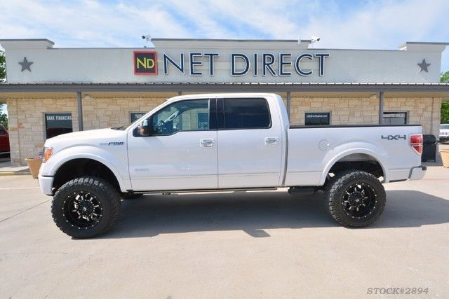 Ford F Platinum Supercrew Lifted X Truck Monster Trucks For Sale on 2004 Ford F 150 White