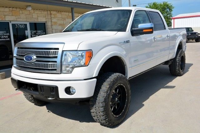 2012 ford f 150 platinum supercrew lifted 4 4 truck for sale. Black Bedroom Furniture Sets. Home Design Ideas