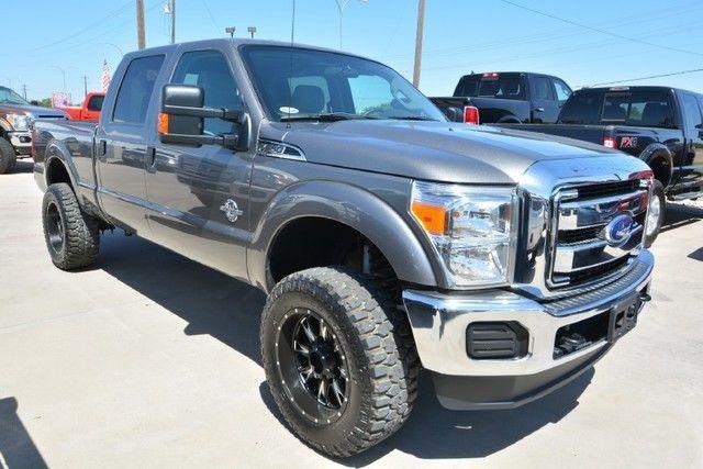 2014 ford f 250 xlt crew cab leveled diesel 4 4 truck for sale. Black Bedroom Furniture Sets. Home Design Ideas
