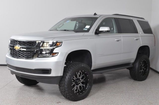 2015 chevrolet tahoe lt 4x4 navigation custom lift for sale. Black Bedroom Furniture Sets. Home Design Ideas