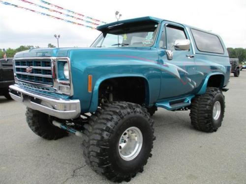 2015 Chevrolet Silverado 1500 Double Cab >> 1977 Chevrolet Blazer for sale