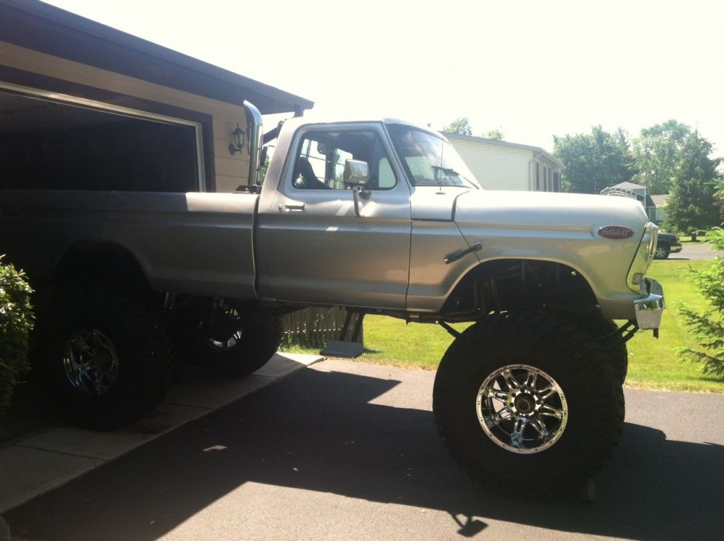 1978 Ford F 250 Monster Truck 12 Lift For Sale