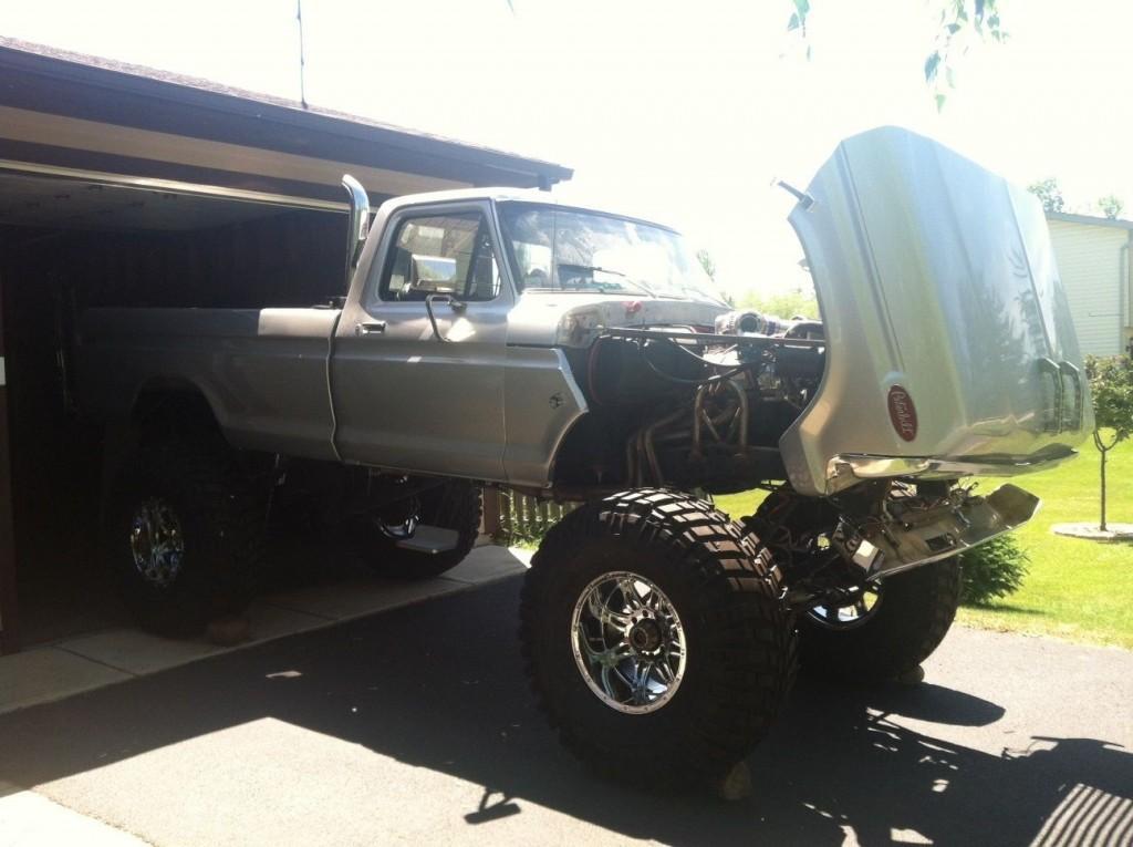 Vintage 4x4 Trucks For Sale >> 1978 Ford F 250 Monster Truck 12″ LIFT for sale