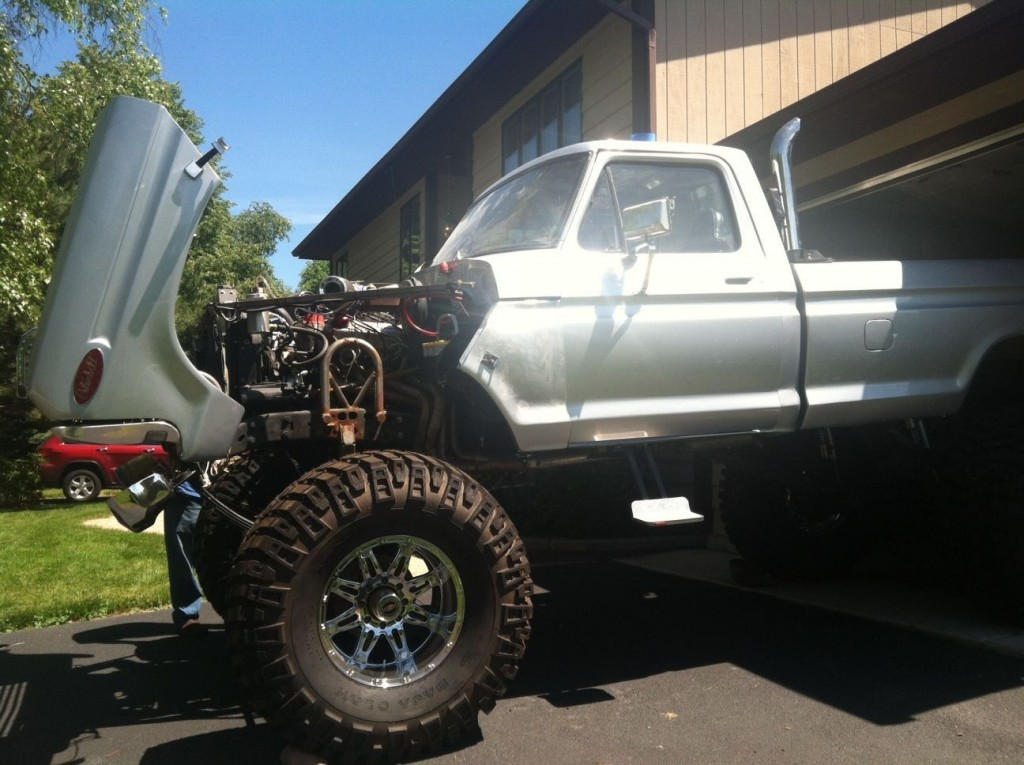 1978 ford f 250 monster truck 12 lift for sale. Black Bedroom Furniture Sets. Home Design Ideas