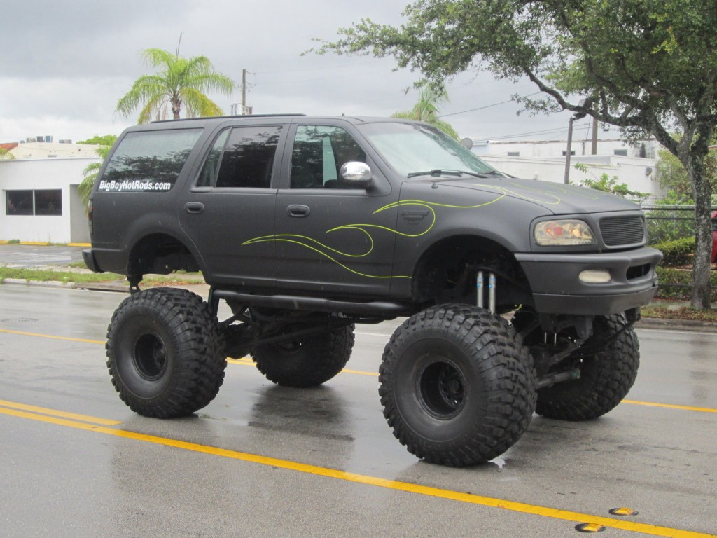 1997 Ford Expedition Xlt Lifted Monster Truck For Sale