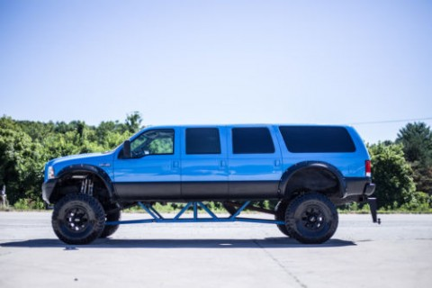 1999 Ford F 250 6 DOOR Excursion Monster 40″ Tires Stunning CUSTOM for sale