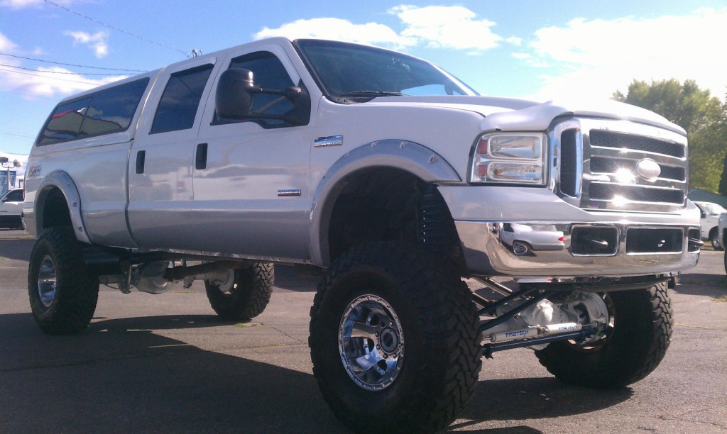 2005 Ford F 350 Super Duty Lariat Crew Cab Lifted MONSTER