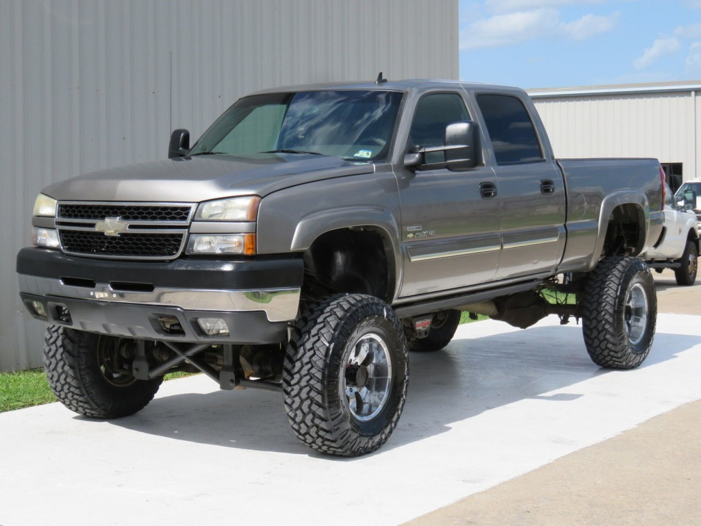2007 chevrolet silverado 2500 diesel 4 4 for sale. Black Bedroom Furniture Sets. Home Design Ideas