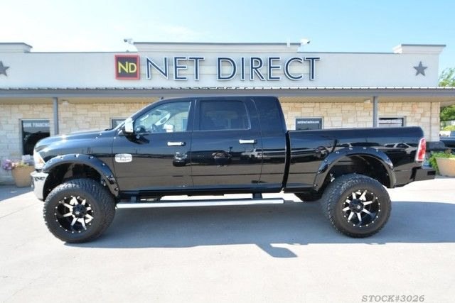 Monster Truck Dodge Ram >> 2014 Ram 3500 Longhorn Lifted 4X4 Diesel Truck for sale