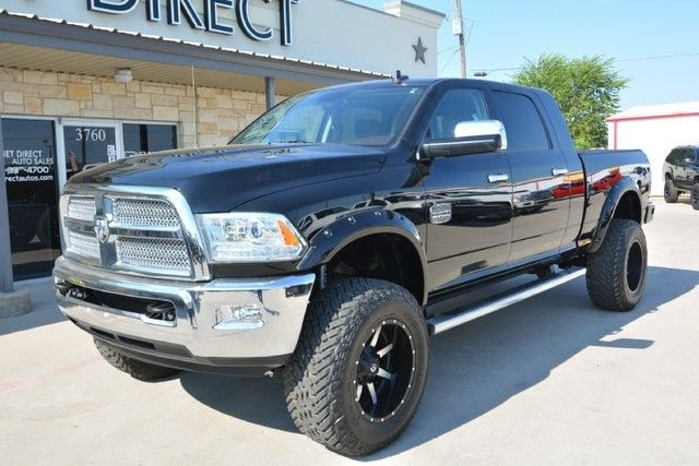 2014 Ram 3500 Longhorn Lifted 4x4 Diesel Truck For Sale