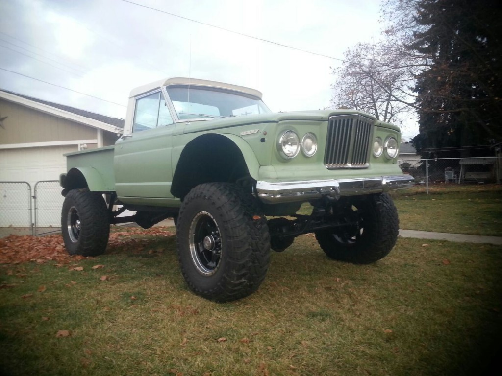 1976 Jeep J10 All Chevy Newly Built 454 M20 4 Spd Dana 60