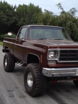 1978 Chevy 1500 4×4 with 44,755 Original miles for sale