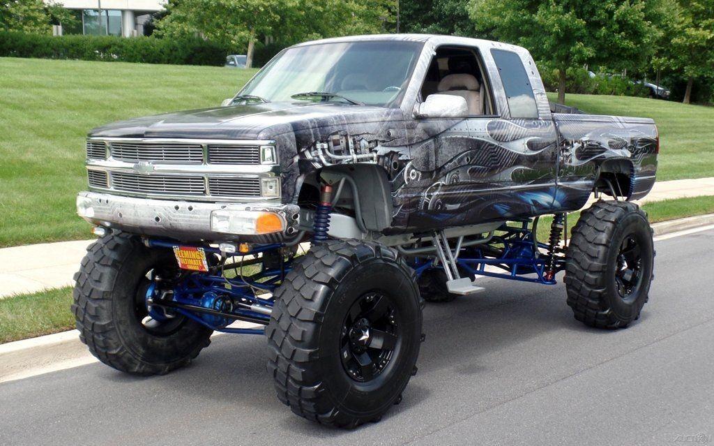 2015 Lifted Silverado >> 1992 Chevrolet K Pickup 1500 Custom Monster Show Truck for sale
