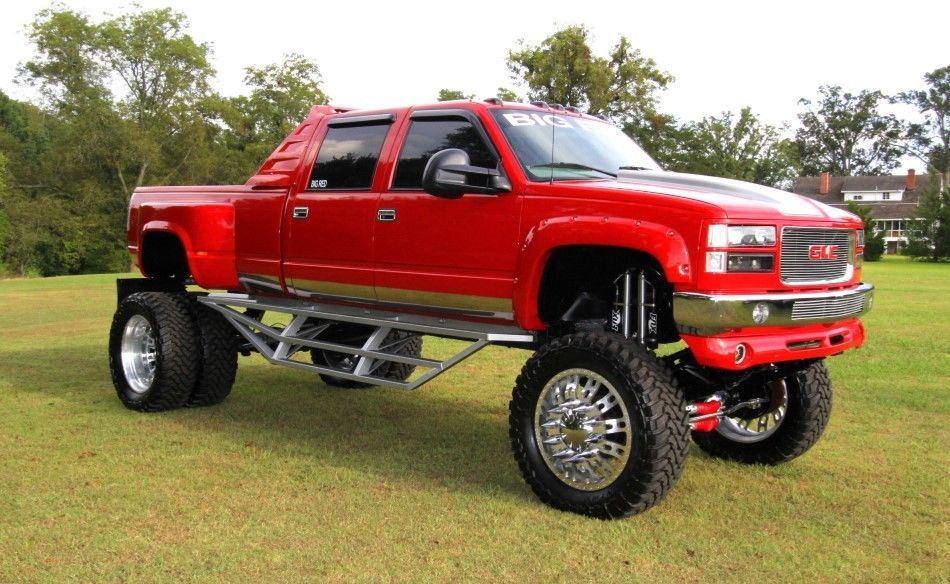 2000 GMC Sierra 3500 Monster truck for sale