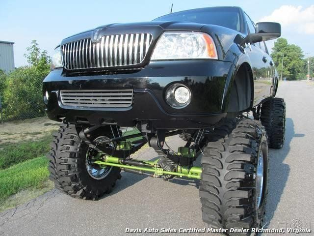 2001 Ford F 150 Lincoln XLT Black Wood Monster Truck Supercharged