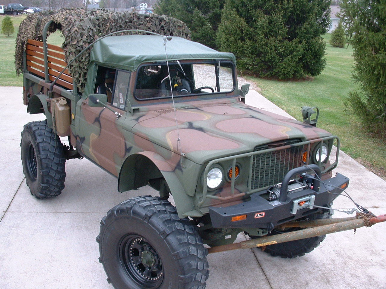 Jeeps For Sale In Ga >> 1968 Jeep M715 Military Monster Truck for sale