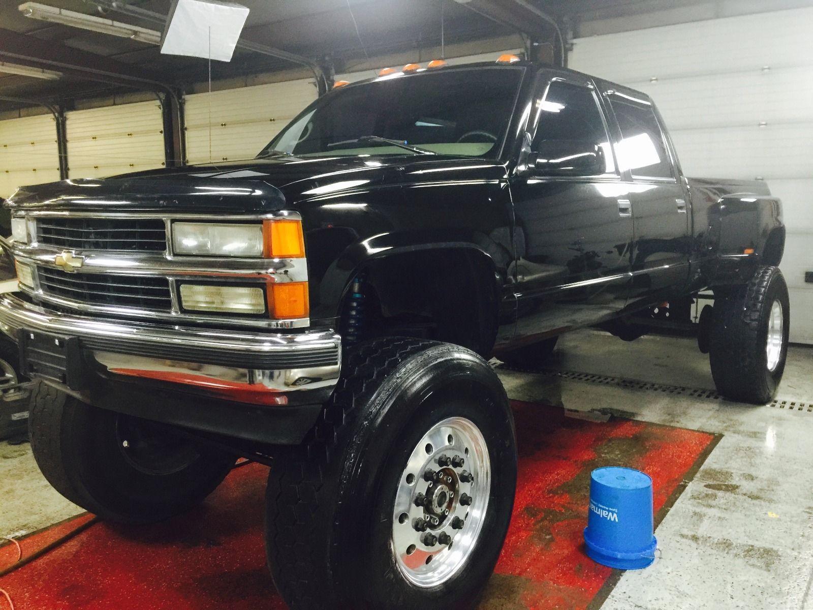 1997 chevrolet silverado 3500 monster truck for sale. Black Bedroom Furniture Sets. Home Design Ideas