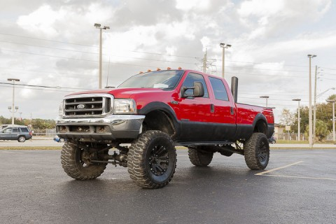 2000 Ford F 350 Powerstroke Turbodiesel 7.3L 4X4 Crew Cab for sale