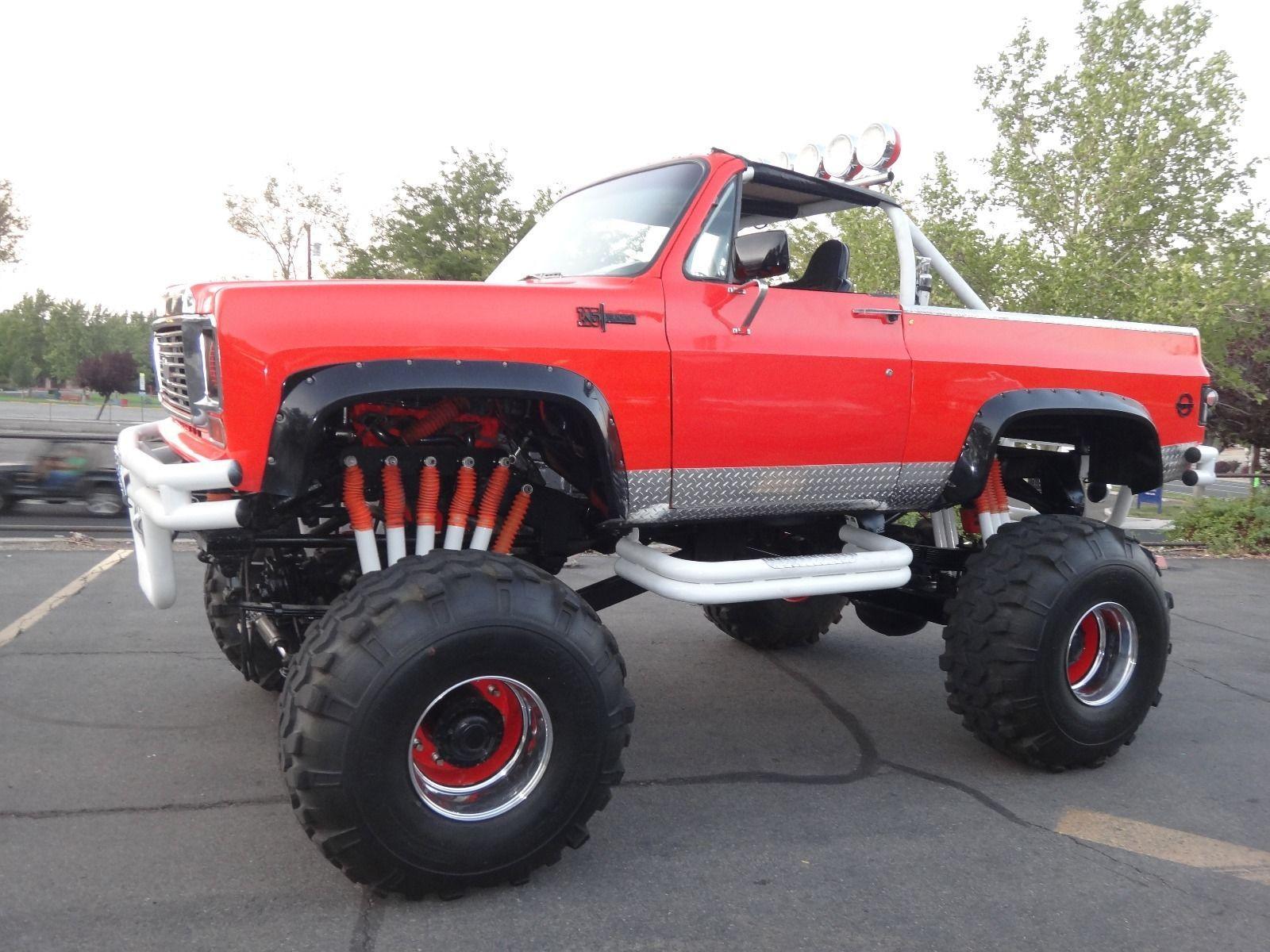 1973 chevrolet blazer k5 monster truck for sale. Black Bedroom Furniture Sets. Home Design Ideas