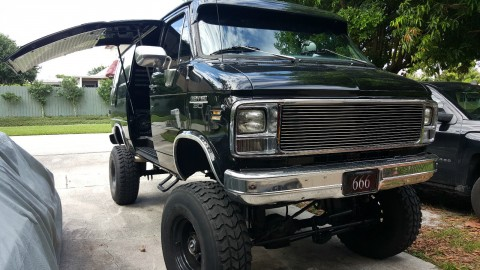 1978 Chevrolet G30 Pathfinder Conversion Quigely 4×4 Van for sale