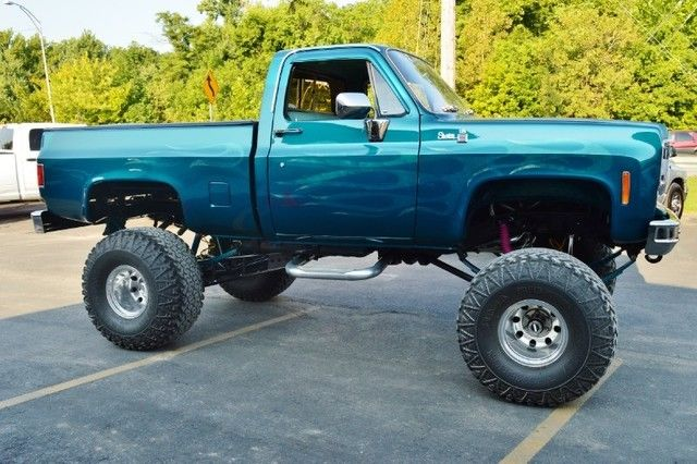 1978 gmc sierra 1500 monster show truck 4 4 dana 44 fuel injection 350 engine for sale. Black Bedroom Furniture Sets. Home Design Ideas