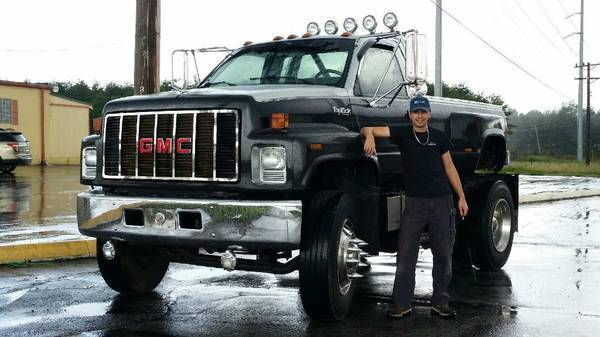 Vintage Truck For Sale >> 1994 GMC TOPKICK C6500 Custom Lifted Monster for sale