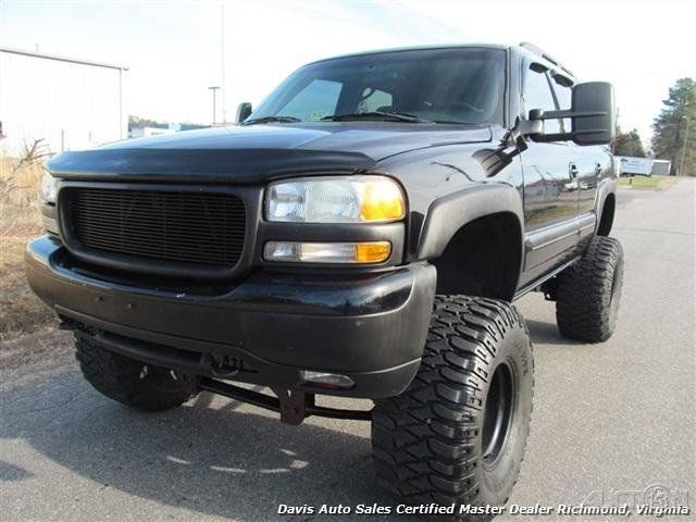 2003 gmc yukon slt lifted 4x4 custom monster for sale. Black Bedroom Furniture Sets. Home Design Ideas