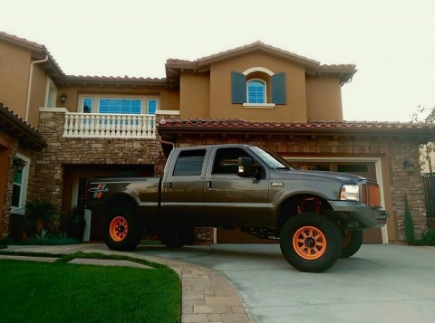 2006 Ford F250 Diesel, Carli Suspension, IPR, American Force, Tiregate, ARP for sale