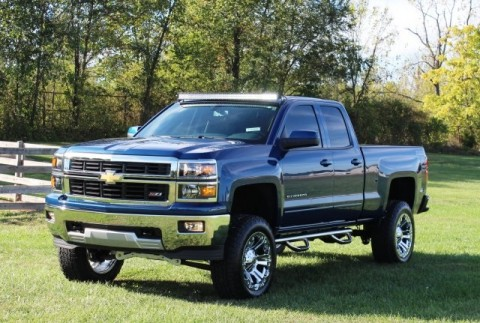 2015 Chevrolet Silverado 6.5 LIFT 20″ Chrome Wheels 1500 LT for sale