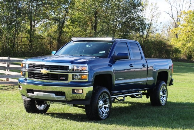 Chevy Silverado Custom Wheels >> 2015 Chevrolet Silverado 6.5 LIFT 20″ Chrome Wheels 1500 LT for sale